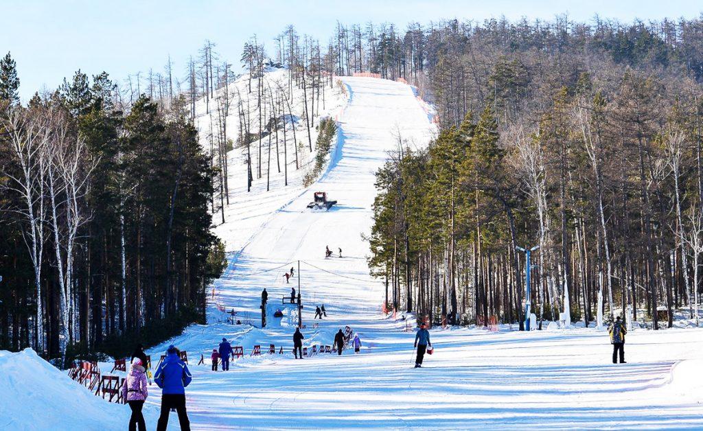 Лыжи на Алтае