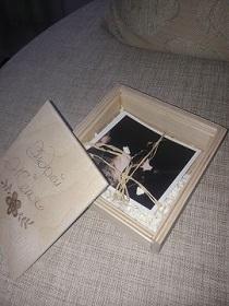 Красивая коробочка для фотографий